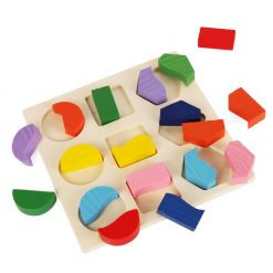 Geometric Shapes Matching Puzzle
