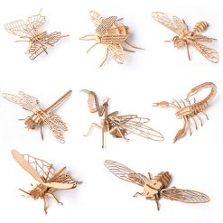 Insects 3D Wooden Puzzle