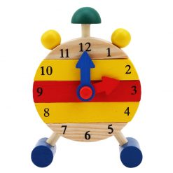Mini Clock Stacking Toy