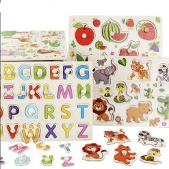 Wooden Puzzles For Toddlers 3D Animals Alphabet - ToyLogs 2020-11-06 19-56-11
