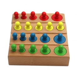 Montessori Cylinder Blocks