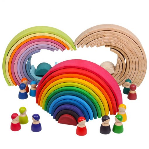 Rainbow Stacking Toy Made