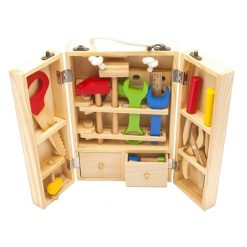 Wooden Tool Set Maintenance Box Toy