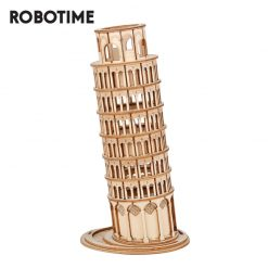 Tower of Pisa Wooden Puzzle 3D