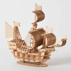 Model Sailing Ship 3D Wooden Assembly Kit