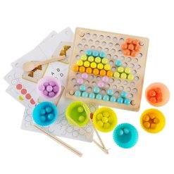Montessori Bead Board